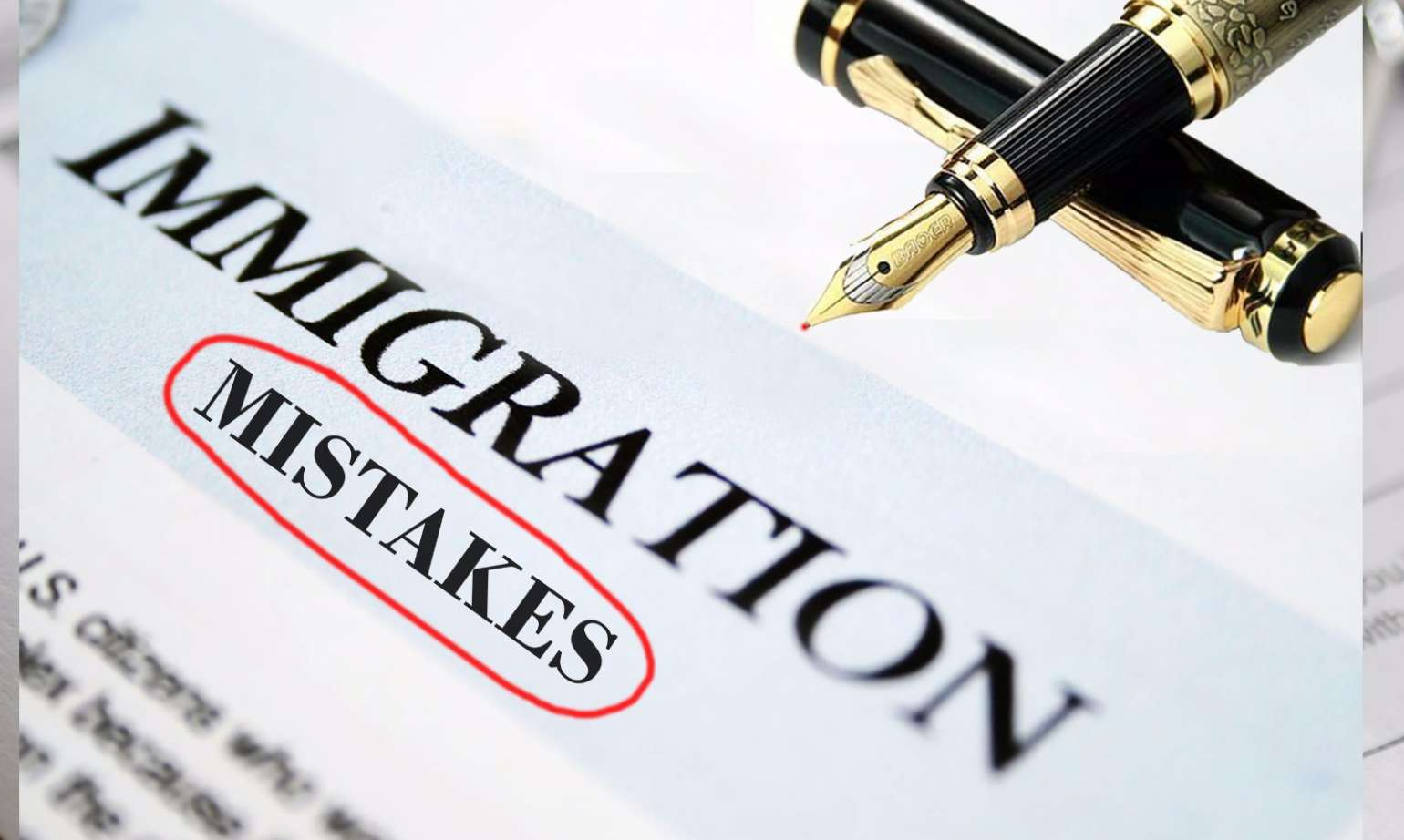 Some mistakes can get your visa denied, and the applicant should consider to avoid them.